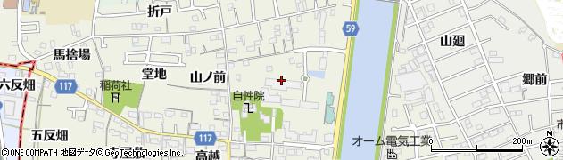 愛知県大治町(海部郡)砂子(千手堂)周辺の地図