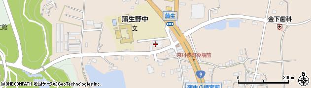 京都府船井郡京丹波町周辺の地図