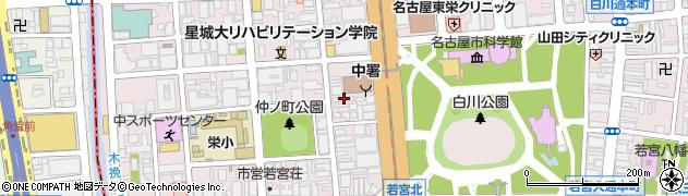 ウッド周辺の地図