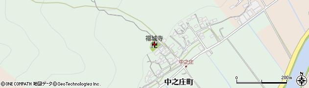 福城寺周辺の地図