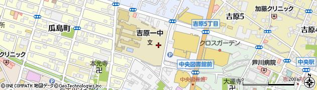 静岡県富士市永田北町周辺の地図