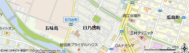 静岡県富士市日乃出町周辺の地図