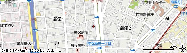 琴線事務所周辺の地図