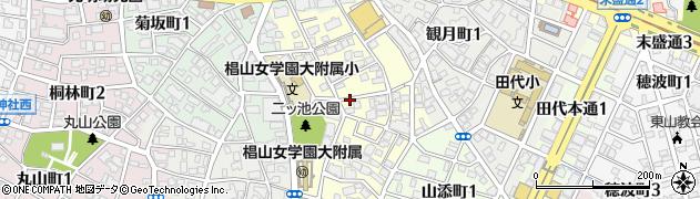 愛知県名古屋市千種区丘上町周辺の地図