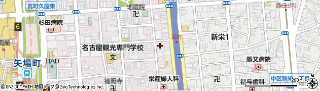 ビクトリー周辺の地図