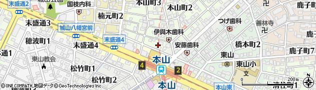 カフェレストB・2周辺の地図