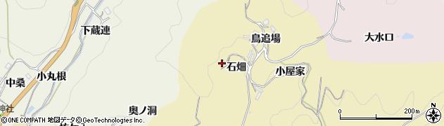 愛知県豊田市永野町(石畑)周辺の地図