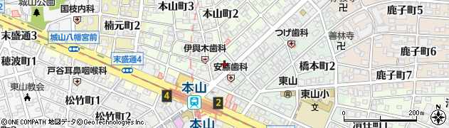 花誠周辺の地図