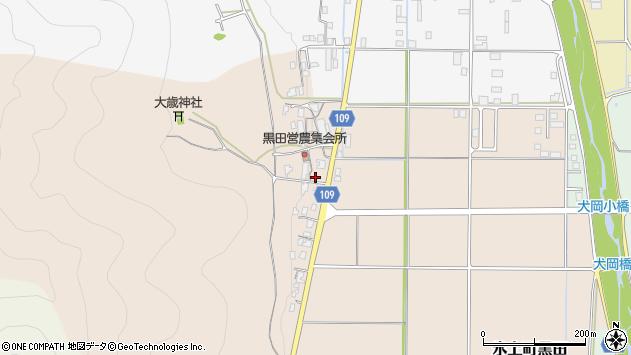 〒669-3605 兵庫県丹波市氷上町黒田の地図