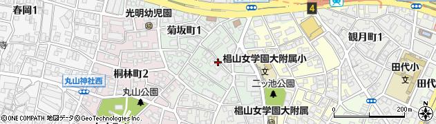 愛知県名古屋市千種区菊坂町周辺の地図