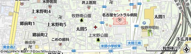 観音寺周辺の地図