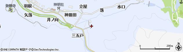 愛知県豊田市摺町(樋口)周辺の地図