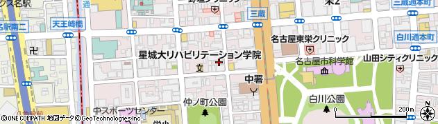 株式会社吉野家 第3事業部周辺の地図