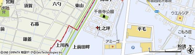 愛知県名古屋市中川区富田町大字千音寺(上之坪)周辺の地図
