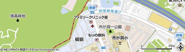 ほっともっと 長久手南店周辺の地図