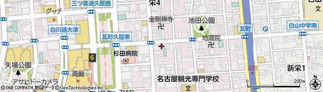 クラブアローン周辺の地図