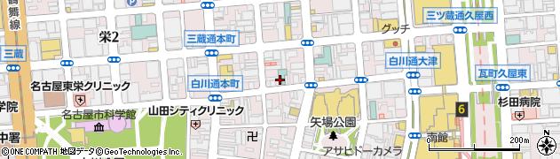オデオン周辺の地図