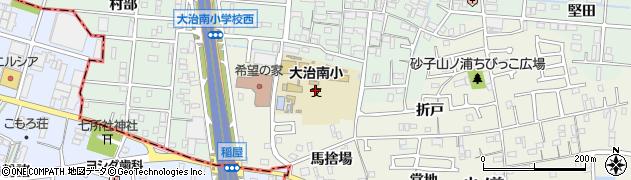 愛知県大治町(海部郡)砂子(勇八前)周辺の地図