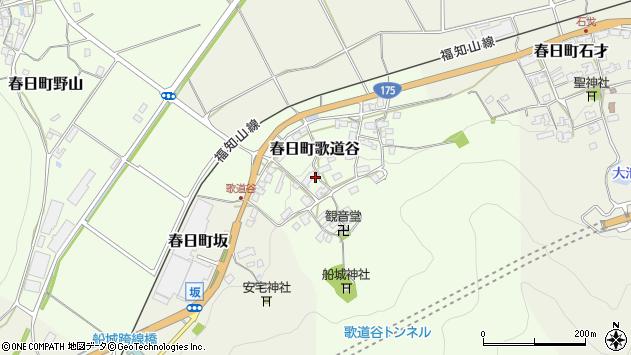 〒669-3414 兵庫県丹波市春日町歌道谷の地図