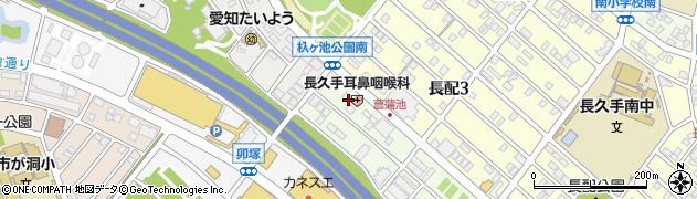 ベントマン・杁ヶ池店周辺の地図