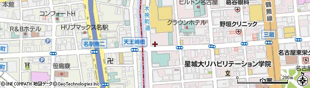 愛知県名古屋市中区栄1丁目2-26周辺の地図