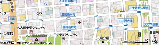 名古屋的和風DININGまかまか周辺の地図