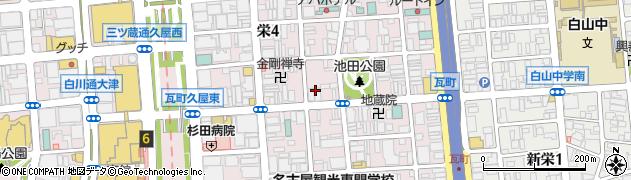 玉伝本店周辺の地図