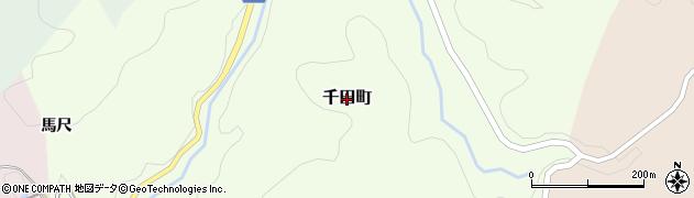 愛知県豊田市千田町周辺の地図