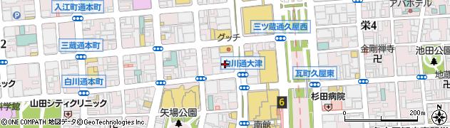 日本レストランシステム株式会社 名古屋事務所周辺の地図