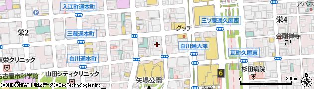 ドーモ 栄店周辺の地図