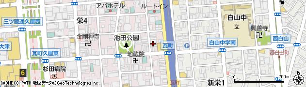 くれーじゅ周辺の地図