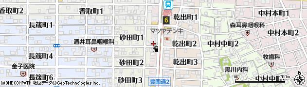 鮨酒人しょう周辺の地図