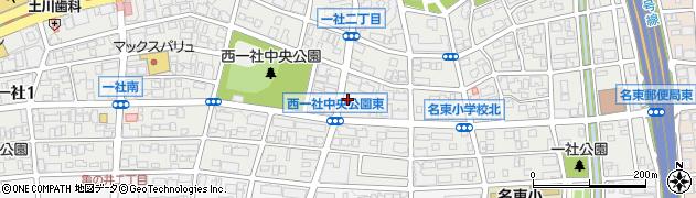ほっともっと 一社店周辺の地図