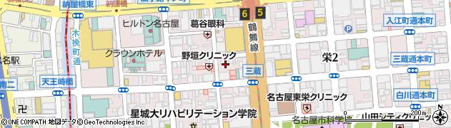 スナックめまい周辺の地図