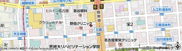 ニクバル栗坊TheOne周辺の地図