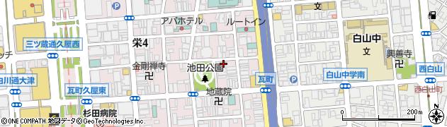 ゑんじゃ周辺の地図