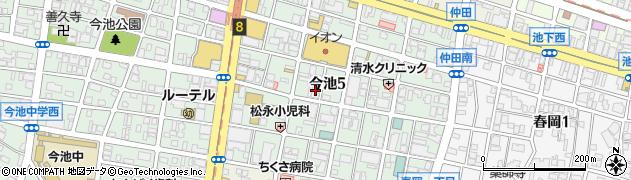 金剛石周辺の地図