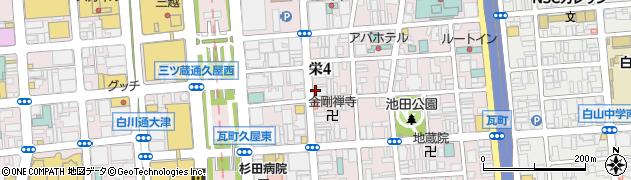 半熟たまご周辺の地図