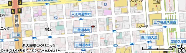 万亀周辺の地図