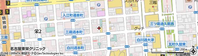 AGORA周辺の地図