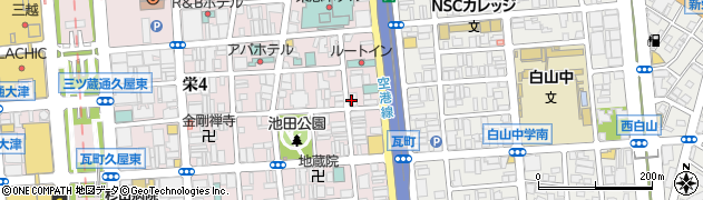 ラウンジR&J周辺の地図