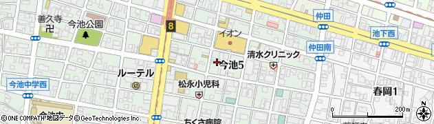 美福周辺の地図