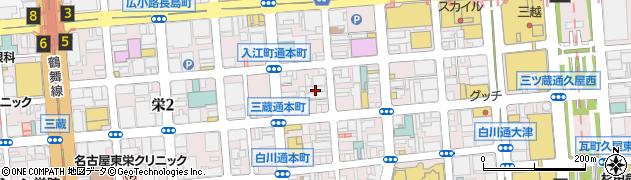 ワイズ周辺の地図