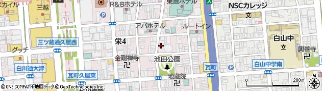 しなとら周辺の地図