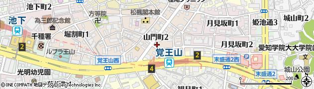 むじょか周辺の地図