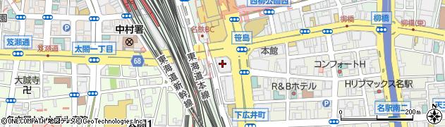 南山レジャック店周辺の地図