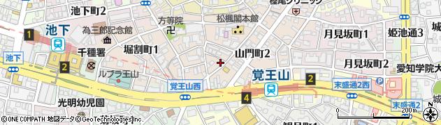LaPlume周辺の地図