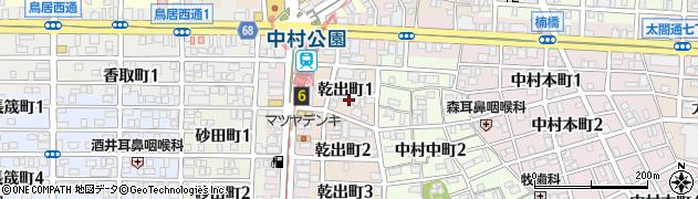 翔周辺の地図