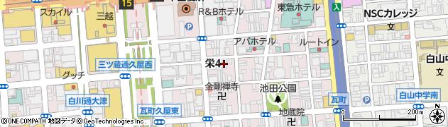 幹周辺の地図