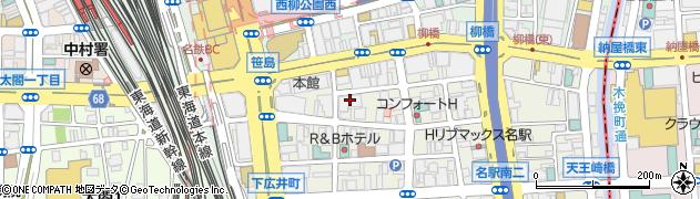 舞鶴館周辺の地図